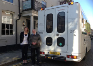 rye & district community transport The George in Rye