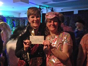 Demelza donation The George in Rye