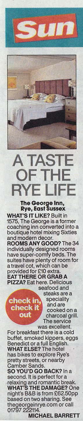 The Sun The George in Rye