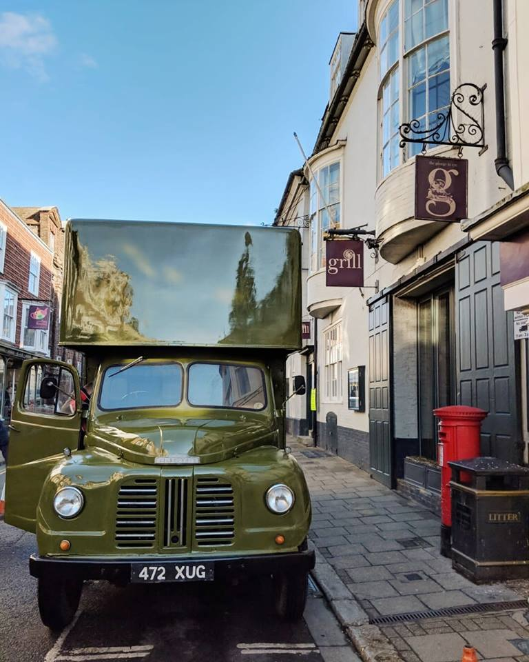 Netflix's The Crown films in Rye The George in Rye